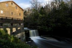 Lanterman's-Mühlfälle - Youngstown, Ohio Stockbilder