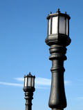 Lantern. Two lantern with blue sky in the background Royalty Free Stock Image