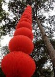 Lantern. The lantern in a pakr Stock Photos