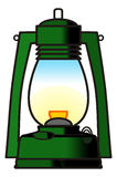 Lantern. Graphic design of hurricane lentern Royalty Free Illustration