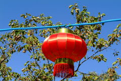 Lantern. In a place called Snow Town near Harbin, China Stock Images