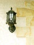 Lantern. On a stone background Royalty Free Stock Photography