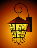 Lantern. Vector illustration, AI file included vector illustration