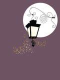 Lantern. Vector illustration of vintage lantern Stock Image