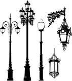 Lantern. Vector illustration of some street lantern royalty free illustration