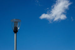Lantern against the blue sky Royalty Free Stock Photography