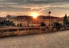 Free Lantern At Charles Bridge In Prague Stock Photo - 15212530