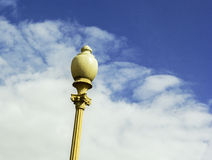 Lantern. On a background of blue sky Royalty Free Stock Photo