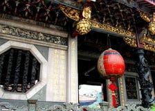 Lantern in Baoan Temple, Taipei Stock Photo