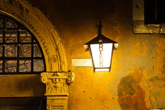 Lantern of a bar in Venice Royalty Free Stock Image