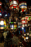 Lantern Bazaar Royalty Free Stock Images