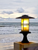 Lantern at the beach 2 Royalty Free Stock Photo