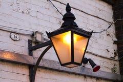 Lantern in Birmingham. Street, United Kingdom Royalty Free Stock Photography