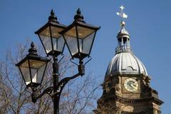 Lantern in Birmingham. Street, United Kingdom Royalty Free Stock Image