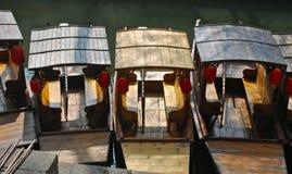 Lantern Boat Suzhou Stock Photo