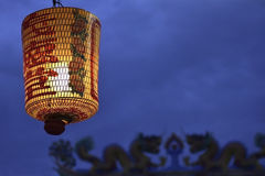 Lantern Chinese Shrine Royalty Free Stock Photography