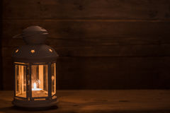 Lantern. Christmas decorations with lantern. Royalty Free Stock Images