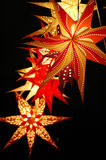 Lantern on christmas market Royalty Free Stock Photography