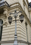 Lantern in the city center Stock Photography