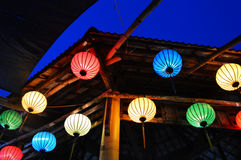 Lantern. Colorful Lantern in vietnam hoian royalty free stock images