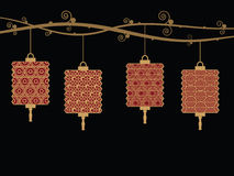 Lantern decorations Royalty Free Stock Image