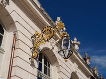 Lantern Detail at Place Stanislas in Nancy Royalty Free Stock Photos