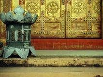 Lantern door Royalty Free Stock Photo