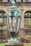 Lantern on the Dresden Art Gallery Royalty Free Stock Photography