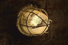 Lantern in the dungeon Royalty Free Stock Image