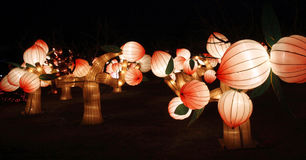 Lantern Festival. It is the Lantern Festival in China on February 21.According to the traditional habit of China, the Lantern Festival is the important component Stock Photography