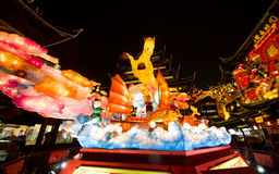 Lantern Festival in the Chinese New Year. February 16, 2014 Royalty Free Stock Image