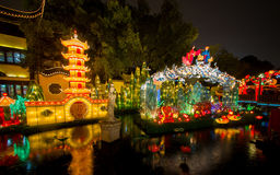 Lantern Festival in the Chinese New Year. February 16, 2014 Stock Image