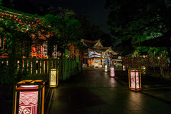 Lantern festival in Enoshima Royalty Free Stock Photos