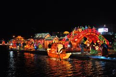 Lantern Festival Fair 2015 Stock Photography