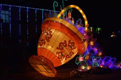Lantern Festival in Hainan Royalty Free Stock Images