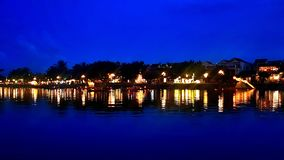 Lantern festival Hoi An royalty free stock photos