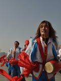 Ansai Waist Drum Royalty Free Stock Photo