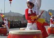 Drum Northern Shaanxi Stock Photos