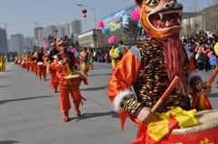 Tigger Northern Shaanxi royalty free stock images