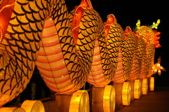 Lantern Festival in Singapore, Dragon Stock Photography