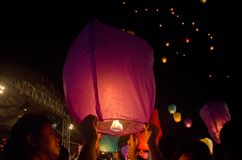 LANTERN FESTIVAL SOLO INDONESIA Stock Photo