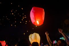 LANTERN FESTIVAL SOLO INDONESIA Royalty Free Stock Photography