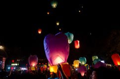 LANTERN FESTIVAL SOLO INDONESIA Stock Photography
