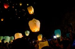 LANTERN FESTIVAL SOLO INDONESIA Royalty Free Stock Photo