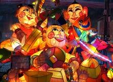 The 2015 Lantern Festival in Taiwan Stock Photo