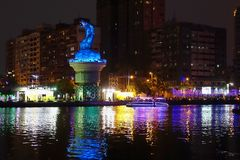 The 2015 Lantern Festival in Taiwan Stock Images