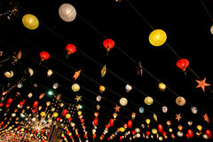 Lantern Festival , Thailand Royalty Free Stock Images