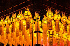Lantern festival Thailand. Royalty Free Stock Images