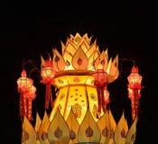 Lantern festival Thailand. Stock Image