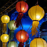 Lantern festival in Thailand Royalty Free Stock Photos